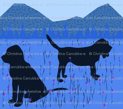 Blue Bloodhound
