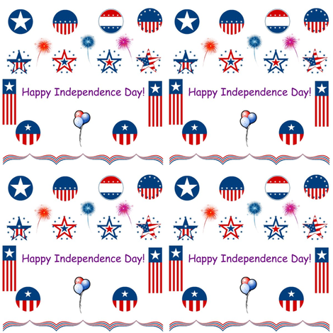 karisplace_com's fourth of July fabric by kari's_place on Spoonflower - custom fabric
