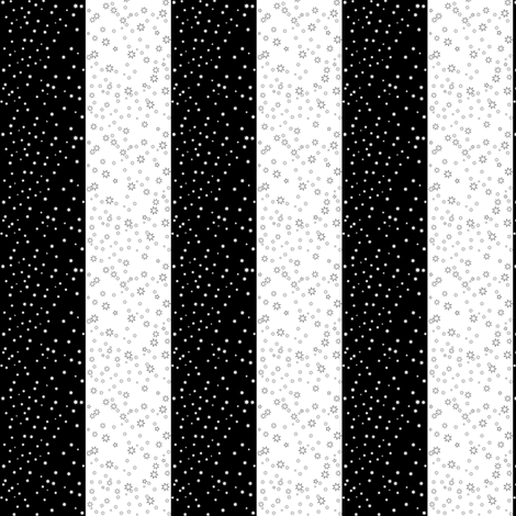 Star Stripes fabric by whimzwhirled on Spoonflower - custom fabric