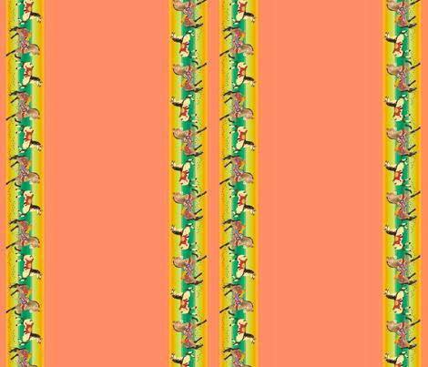 Carousel Mini-Border  fabric by whatsit on Spoonflower - custom fabric