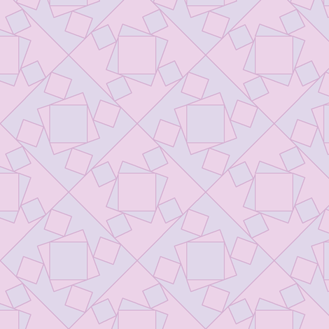 checkewed lilac fabric by glimmericks on Spoonflower - custom fabric