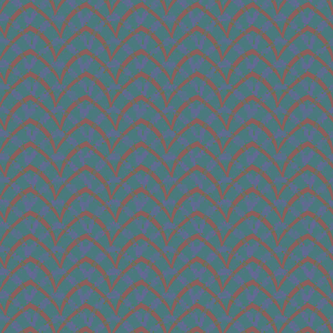 doublearch_06_depths fabric by glimmericks on Spoonflower - custom fabric