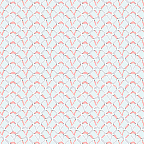 doublearch_06_coolcolors fabric by glimmericks on Spoonflower - custom fabric