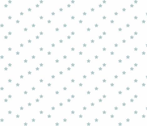 Matilda_Blue_Coordinate fabric by designedtoat on Spoonflower - custom fabric