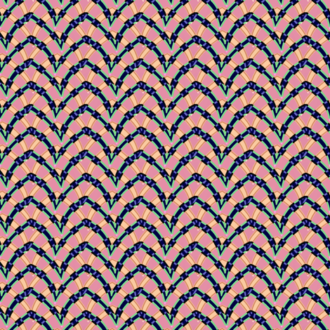 double_arch_204 fabric by glimmericks on Spoonflower - custom fabric