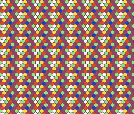 Technogon Purple (Beep Boop Bop collection) fabric by meg56003 on Spoonflower - custom fabric