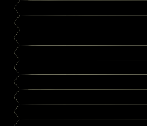 Striped Paris Letters Black fabric by nemethwild on Spoonflower - custom fabric