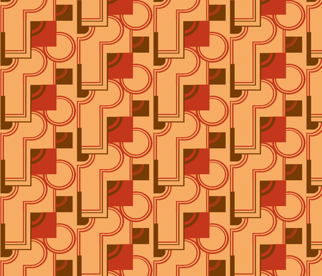 70s Deco fabric by sufficiency on Spoonflower - custom fabric