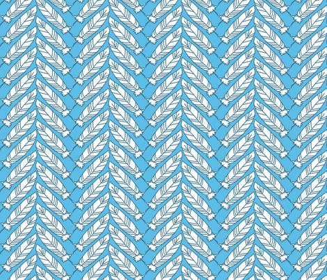 Feathers fabric by siya on Spoonflower - custom fabric