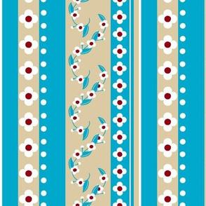 Love Letter Flower Stripe