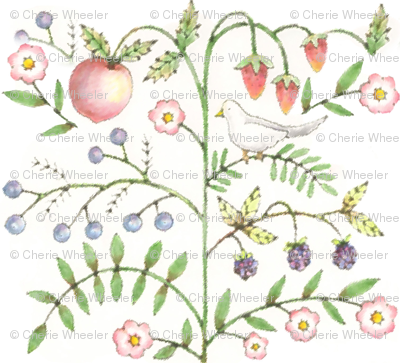 fruit and floral