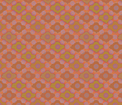 Medallion1000 Firestorm fabric by glimmericks on Spoonflower - custom fabric
