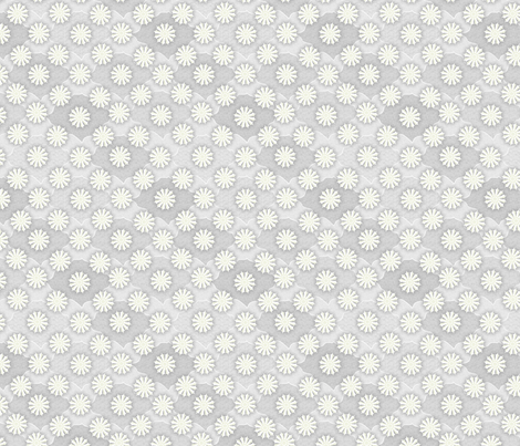 Medallion1000_Gray_Pearl fabric by glimmericks on Spoonflower - custom fabric