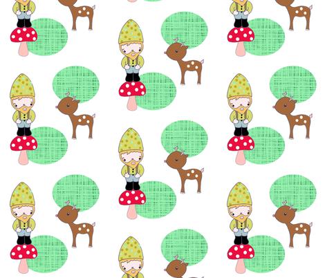 dwarffabric_design fabric by blossomnbird on Spoonflower - custom fabric