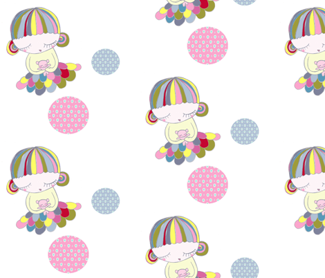 lovelouy4 fabric by blossomnbird on Spoonflower - custom fabric