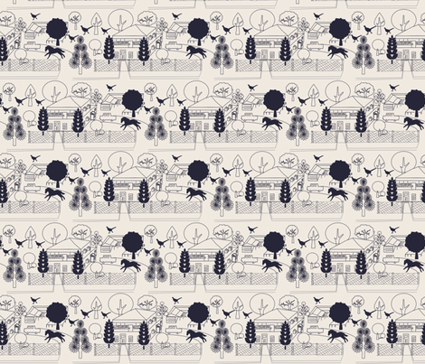 No. 46 fabric by leeandallandesign on Spoonflower - custom fabric