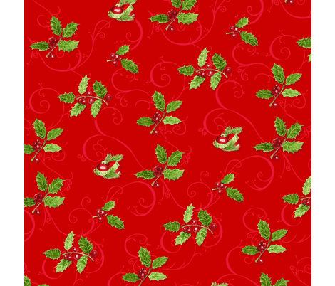 red_christmas fabric by ftesoriere on Spoonflower - custom fabric