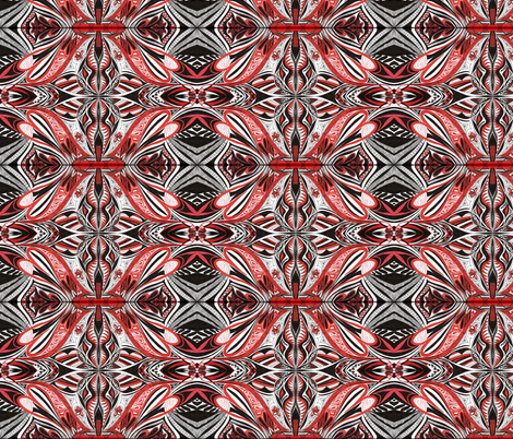 Tribe fabric by yezarck on Spoonflower - custom fabric