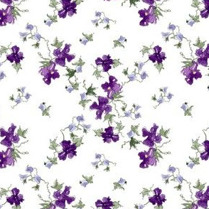 Royal Purple Flowers