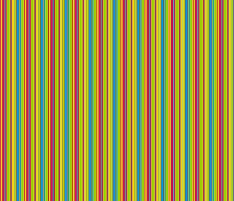 Retro Multi-Stripes 2 fabric by stitchwerxdesigns on Spoonflower - custom fabric