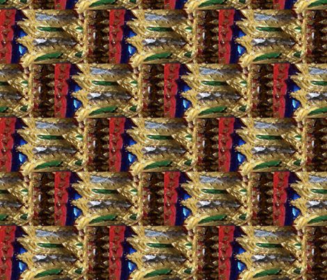 Jeweltone Thai Brackets by Gary fabric by gjcvero on Spoonflower - custom fabric