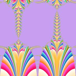 lavendar fan of colors