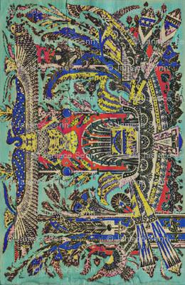 Walk Like An Egyptian (companion fabric)