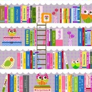 Natalie's Library in Lavender