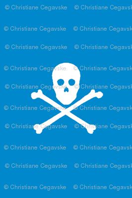 Skull and Crossbones on 0088cc