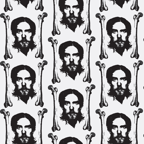Varg VIkernes fabric fabric by susiprint on Spoonflower - custom fabric