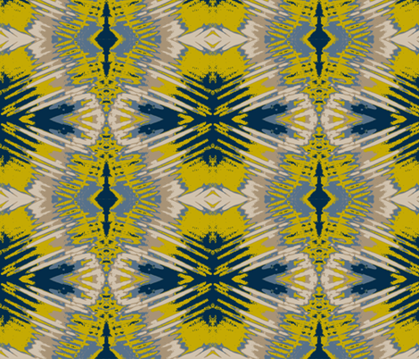 Lemonade Stand in July fabric by susaninparis on Spoonflower - custom fabric