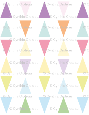 It's raining triangles - Rainbow combo