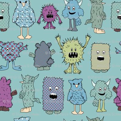 eulen&lerchen_little monsters