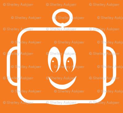 Large Mr Mikeys Smile Orange