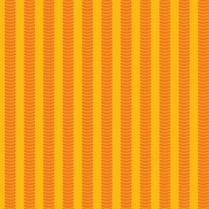 Robot Leg Stripe Yellow