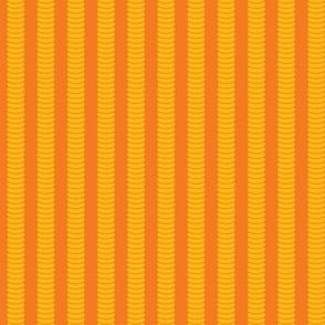 Robot Leg Stripe - Orange