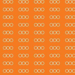 Mr Mikeys Buttons Orange