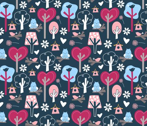 Wonderland fabric by emilyb123 on Spoonflower - custom fabric