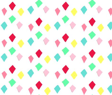 spoonflower_diamonds fabric by blossomnbird on Spoonflower - custom fabric