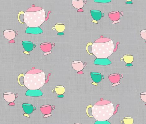 patterntea fabric by blossomnbird on Spoonflower - custom fabric