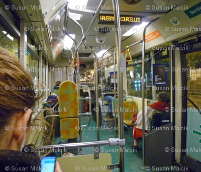 On the 63 Bus, Paris