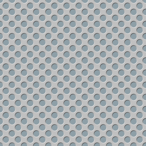 Tin Spots: Light Steel fabric by spellstone on Spoonflower - custom fabric