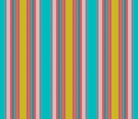 Stripes to match Caladium Uprising fabric by susaninparis on Spoonflower - custom fabric