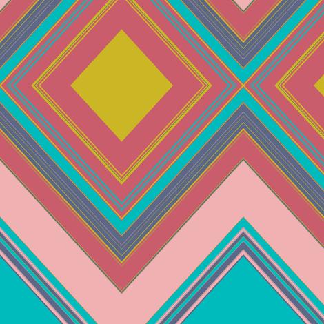 Diamonds to match Caladium Uprising fabric by susaninparis on Spoonflower - custom fabric