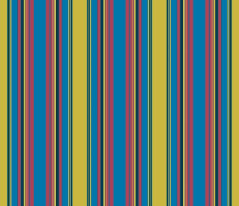 Stripes to match Caladium - Follow the Dark Star fabric by susaninparis on Spoonflower - custom fabric