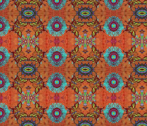 mr wild's butterfly garden fabric by hooeybatiks on Spoonflower - custom fabric