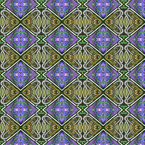 Persian Tiles fabric by edsel2084 on Spoonflower - custom fabric