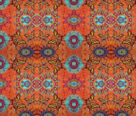 mr wild's garden fabric by hooeybatiks on Spoonflower - custom fabric