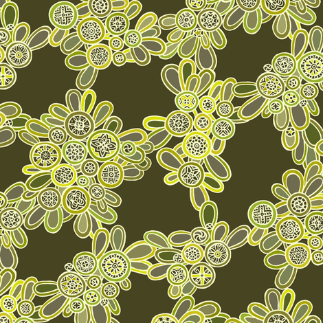 night blooms fabric by simut on Spoonflower - custom fabric