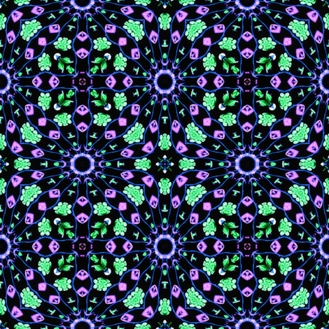 Flower Power 1 fabric by dovetail_designs on Spoonflower - custom fabric